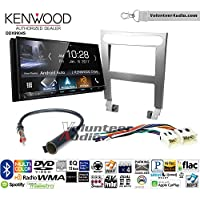 Volunteer Audio Kenwood DDX9904S Double Din Radio Install Kit with Apple CarPlay Android Auto Bluetooth Fits 2004-2006 Nissan Maxima (Without Bose)
