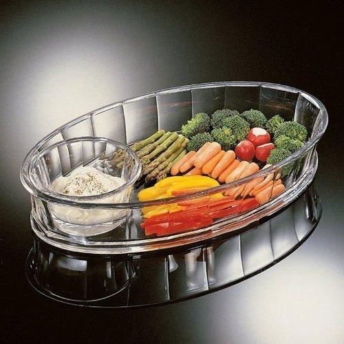 - Grainware Grotto Chip & Dip Tray