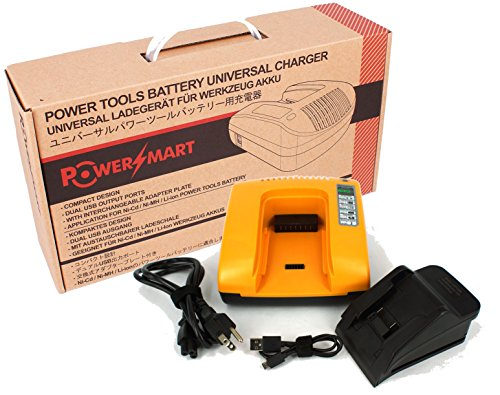 PowerSmart 18Volts Quick Battery Charger For Milwaukee 2790-20 49-24-0171 49-24-2371 0880-20 2620-21 2620-22 2625-21 2625-21CT 2629-22 2668-20 2668-21CT CordlessPower Tools - 20 2620