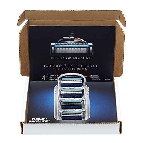 lide Manual Men's Razor Blade Refills, 4 Count ()