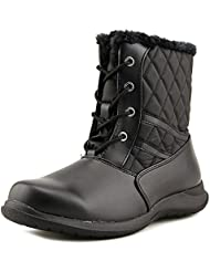Totes Crystal Round Toe Synthetic Winter Boot