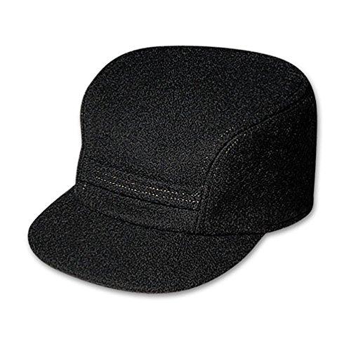 Filson Mackinaw Cap - Black - Small