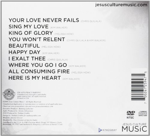 Your Love Never Fails (CD/DVD)