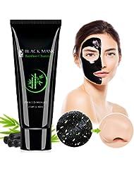 Blackhead Remover Mask, Blackhead Peel Off Mask, Face Mask, Blackhead Mask, Black Mask Deep Cleaning Facial Mask for Face Nose 60g