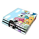 Decorative Video Game Skin Decal Cover Sticker for Sony PlayStation 4 Pro Console PS4 Pro - Adventure Time Jake Finn Fionna Marceline Ice King