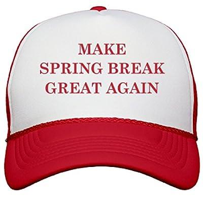 Make Spring Break Great Again: OTTO Poly-Foam Snapback Trucker Hat