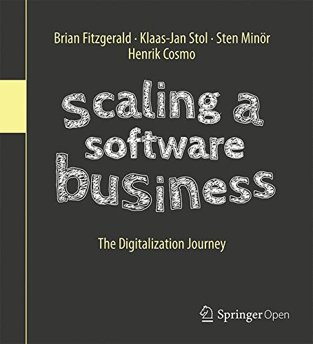 Scaling a Software Business: The Digitalization Journey-cover