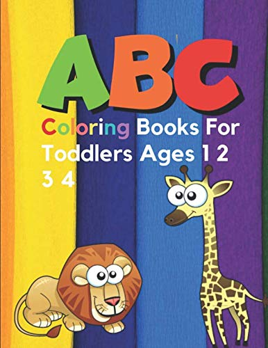 ABC Coloring Books For Toddlers Ages 1 2 3 4: Sesame Street Books For Toddlers ABC Dnealian Handwriting Workbook Cursive -