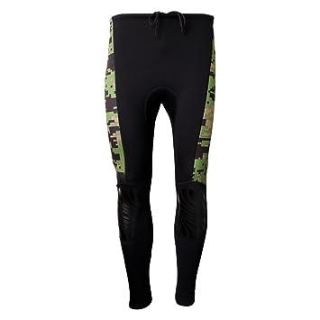 Sharplace Pantalones de Buceo Traje de Neopreno de Natación Ropa Deportiva para Kayak - S