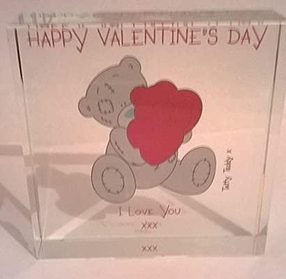 Feliz día de San Valentín Me To You cristal Token romántico ...