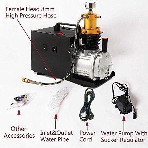 PRIT Compresor de Aire eléctrico Bomba de Aire Rifle Sistema de Alta presión de 300 Bares 30MPa 4500psi: Amazon.es: Coche y moto