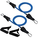 So Alpha Upgraded Workout Resistance Bands for Your So Alpha Exercise Ball Bundle