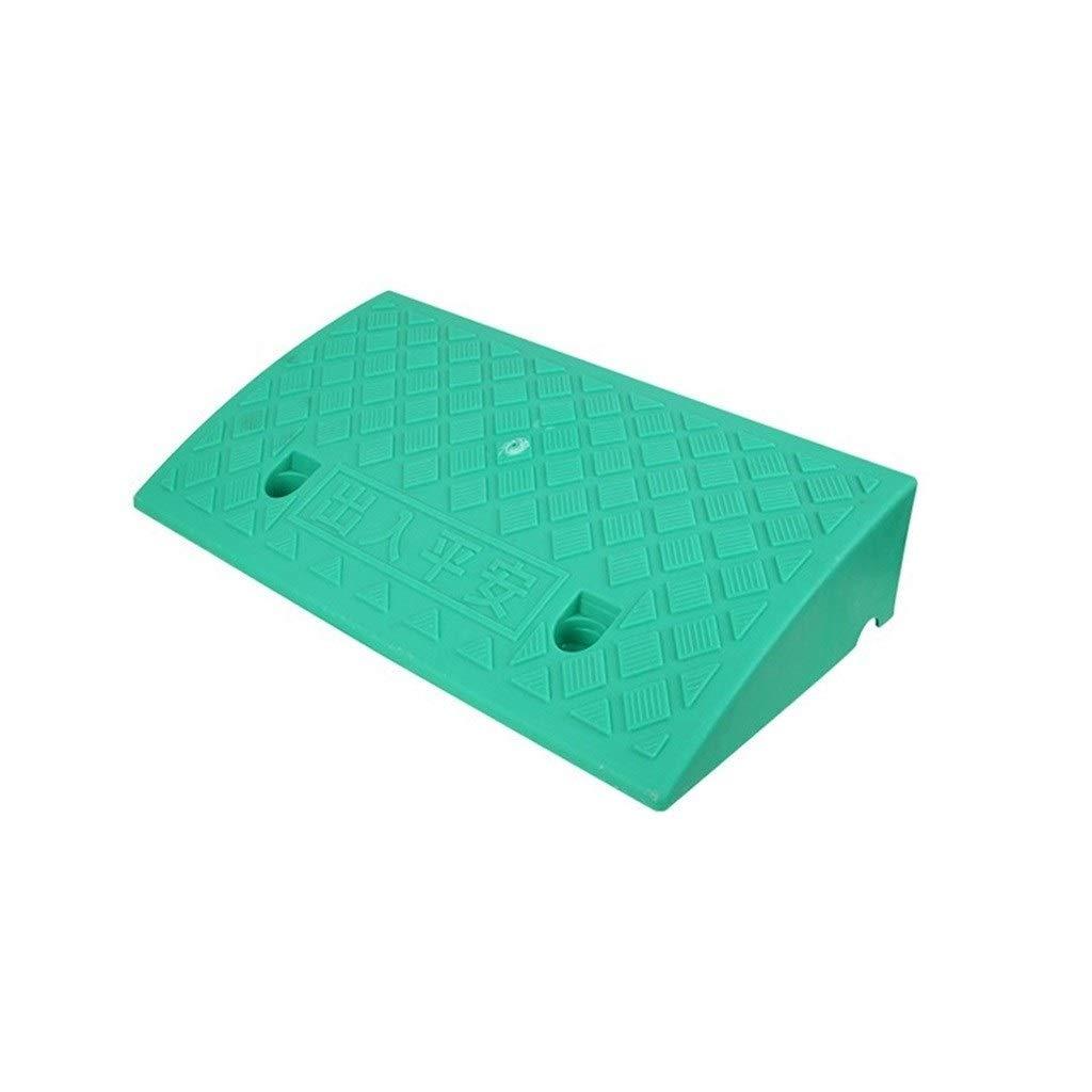 CHANG-dq Tapis de pente en plastique tapis de triangle anti-d/érapant couleur rampes for fauteuil roulant /à usage domestique Hauteur de rampe de bicyclette moto 7-13CM Autoroute d/édi/ée