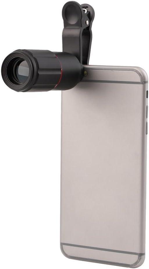 Summeryoung 8 X 18 Zoom Objektiv Universal Monokular Optische Externe Handy Teleskop Handy Kamera Objektiv Kit Für Iphone Und Mehr Elektronik