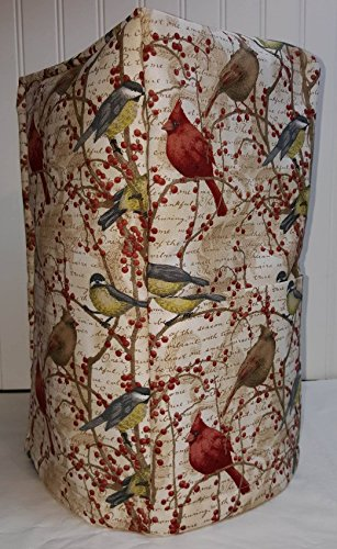 Birds & Berries Blender Cover (Large, All Birds & Berries) - Quilted Blender Appliance Cover