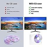 Maxtek 10.4 mm Standard Single Clear CD Jewel Case