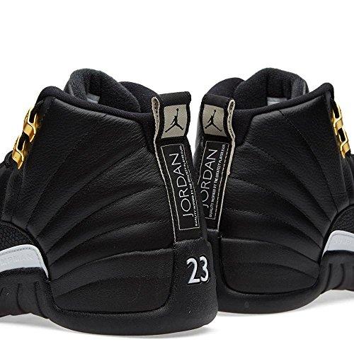 Air Jordan 12 Retro Maestro Scarpa Da Basket Nero / Oro Bianco-nero-mtllc