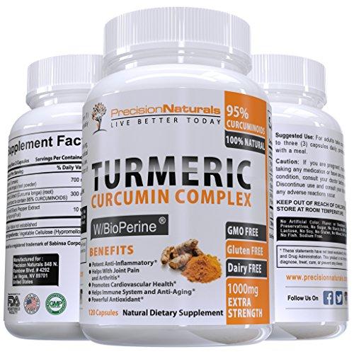 Turmeric Bioperine Absorption Standardized Curcuminoids