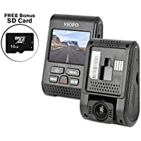 Official VIOFO A119S (Version 2) with Sony Exmor IMX291 Sensor + FREE BONUS 16GB SD CARD