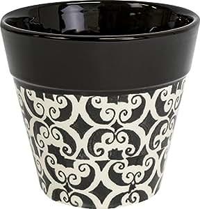Ivyline mppb12mosaico patrón (12cm), color negro