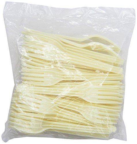 ECOSOURCE Plant Starch Cutlery, Forks, 1000-Count Case