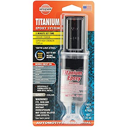 Versachem 47909 Titanium 5 Epoxy - 25 ml Dev-Tube