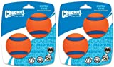 Cheap Chuckit Ball Ultra Ball Medium 4-Pack (2 x 2-Pack), Dog Fetch Toy