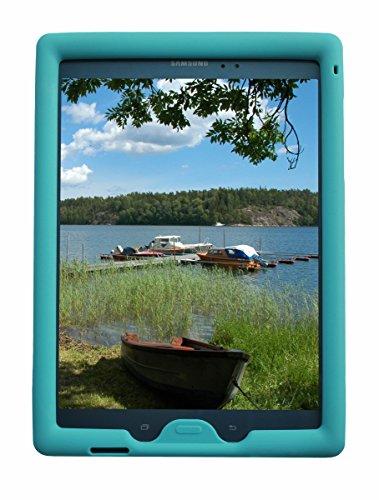 Samsung Galaxy Tab A 8 inch 2015 Tablet, (SM-T350), Tab A Plus, (NOT FOR 2017 Tab A2 Model SM-T380) - BobjGear Custom Fit - Patented Venting - Kid Friendly (Terrific Turquoise) ()
