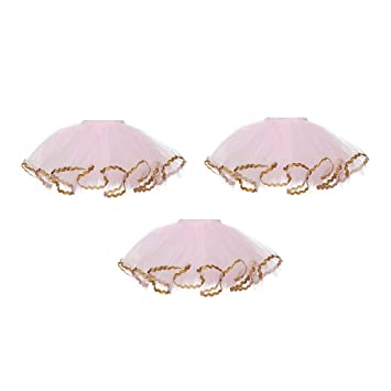 50529a4b9c Buy BESTONZON 3pcs Wine Bottle Decoration Cover Tutu Skirt Birthday Baby  Shower Party Tulle Table Decorations Centerpieces (Pink Gold) Online at Low  Prices ...