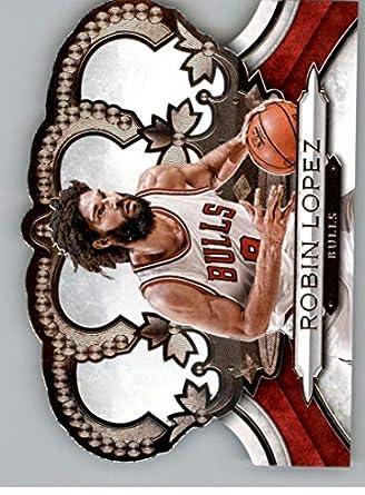 2018-19 Crown Royale Basketball #48 Robin Lopez Chicago Bulls Official NBA Trading Card