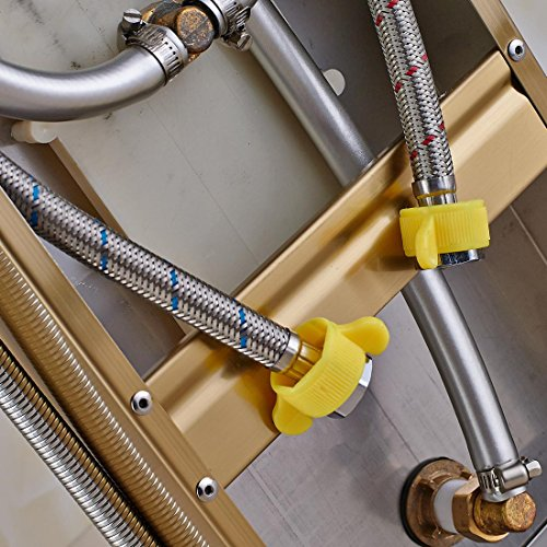 best 304 stainless steel gold shower bathroom shower screen European shower set-Ten years warranty