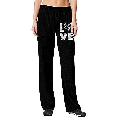 Bu-BY Pantalones de chándal para Mujeres con Conciencia sobre el ...