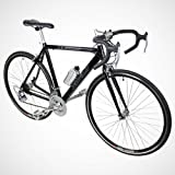 New 54cm Aluminum Road Bike Racing Bicycle 21 Speed Shimano - Black Color