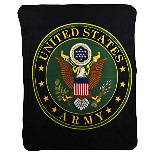 - USA Armed Forces Super Soft Fleece Throw Blanket (United States Army)