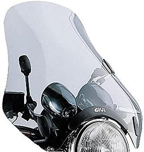 Givi A34g Windschild Universal Getönt A620 Mit Kantenschutz Auto