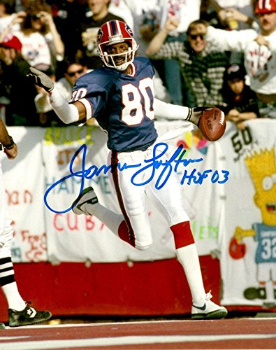 James Lofton Signed Buffalo Bills 8x10 Photo - Autographed Autograph - James Lofton Signed Buffalo Bills