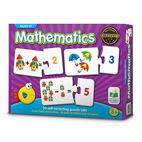 The Learning Journey: Match It! - Mathematics - STEM Addition and Subtraction Game Helps to Teach Early Math Facts 30 Matching Pairs ()