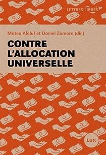Contre l'allocation universelle par Alaluf