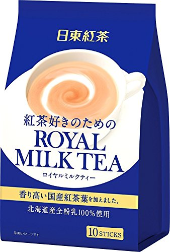Royal Milk Tea Hot Cold Nitto Kocha 10 Pouch (Instant Milk Tea)
