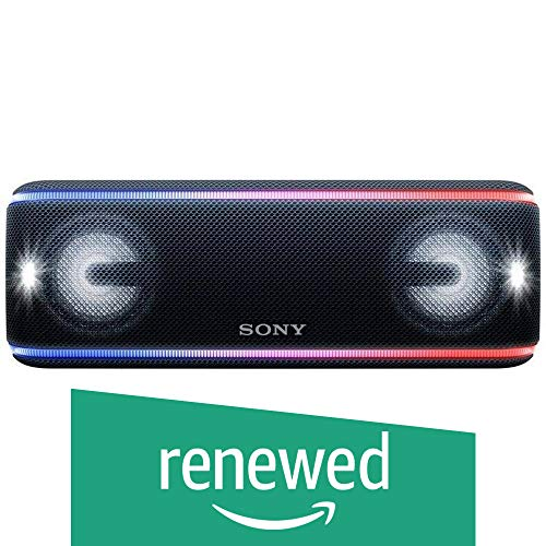 Sony SRS-XB41 Portable Wireless Bluetooth Speaker, Black Renewed