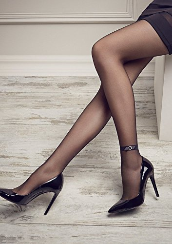 6b8d841eb Patrizia Gucci designed for Marilyn Fashion Tights w Diamond Ankle Band    Lace