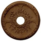 Ekena Millwork CM18SERZS Antioch Ceiling Medallion, Rubbed Bronze
