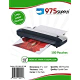 "975 Supply - 3 Mil Clear Letter Size Thermal Laminating Pouches - 9"" X 11.5"" (100 Sheets)"