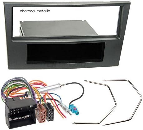 Opel Astra H 04 – 10 de 1 DIN para Radio de Coche Set en Original Plug & Play Calidad con Antena Adaptador, Radio Cable de conexión, Accesorios y ...