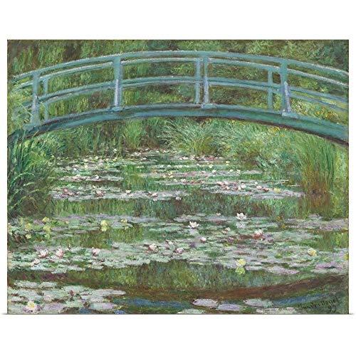 GREATBIGCANVAS Poster Print Entitled The Japanese Footbridge, by Claude Monet, 1899 by Claude Monet 14