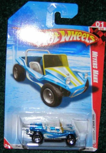 Mattel HOT WHEELS 2010 RACE WORLD 01/04 BLUE BEACH MEYERS...