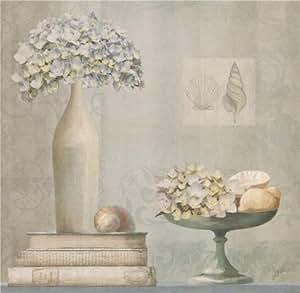 De pintura al óleo ' Diseño de flores de libros' Printing ideal a presión efecto lienzo, 16 x 40,64 cm/41 x 42 cm, la mejor para baño de nieve y diseño de árbol en y regalos de Navidad es esta increíble Art en lienzo decorativo