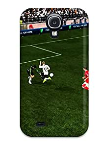 Theodore J. Smith's Shop Best Fashion Tpu Case For Galaxy S4- Fifa Defender Case Cover 1598825K79251795