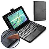 Cooper TOUCHPAD Executive Keyboard case Compatible with Nvidia Shield Tablet | 2-in-1 Bluetooth Wireless Keyboard with Touchpad & Leather Folio Cover | Touchpad Mouse (Black)