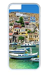 Greece Coast View Custom iphone 6 plus 5.5 inch Case Cover Polycarbonate White